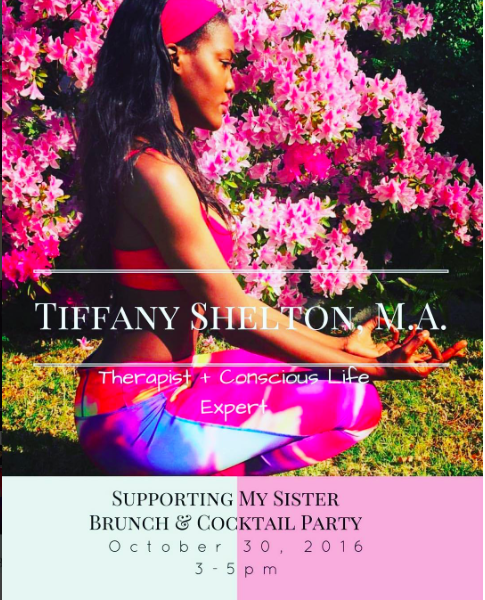 tiffany shelton supporting my sister