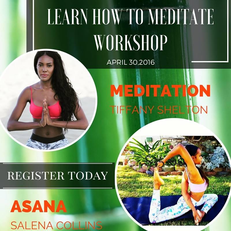 Meditation Workshop at Clear Garden Yoga Studio